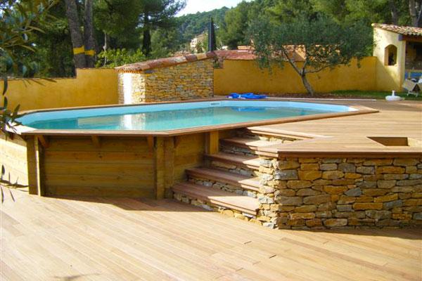 Montage piscine bois elegant construire sa piscine bois for Montage piscine bois enterree